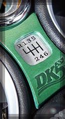 BMW MINI シフトパターン カラー:グリーン