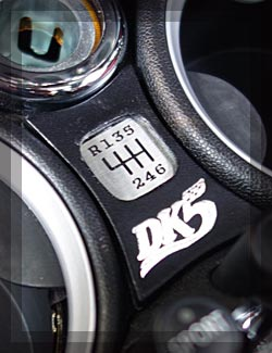 BMW MINIシフトパターンイメージ